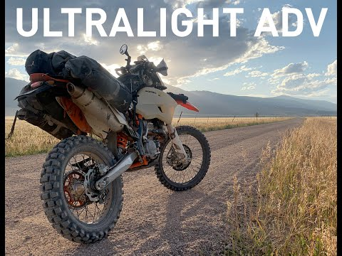 Ultralight ADV -  20days/3200miles Solo On A KTM 350 EXC-F (Mosko Moto R40 Packed, Tools, Gear, Etc)