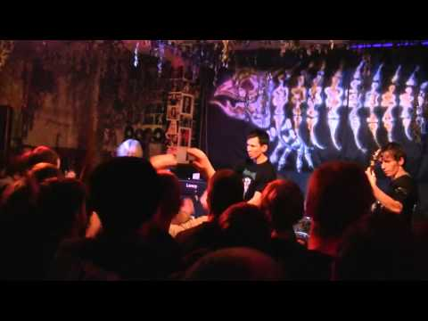 Extermination Dismemberment   29 09 10 @ Jolly Roger Cafe HD