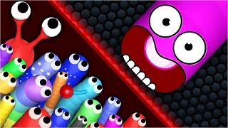 funniest slitherio moments ever   best slither io hack funny moments trolling