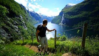 Geirangerfjorden, Stryn och Besseggen – Gone Camping upplever norska kusten