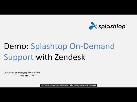 Splashtop SOS with Zendesk