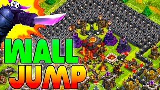 "CLASH OF CLANS -SEXY GREAT WALL TROLL BASE ""FUNNY MOMENTS+TOWN HALL 10 FAILS/WINS"" (GIANTS ORGY)"