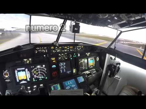 vuelo madrid palma cabina 737 prepar3d
