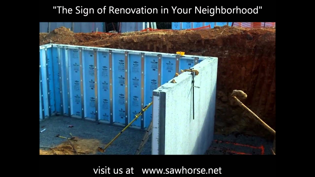 Superior wall modular foundation walls for homes for Superior foundation walls