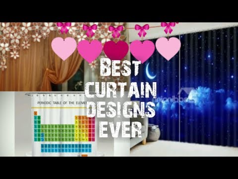 Top Best curtain designs for room decoration.