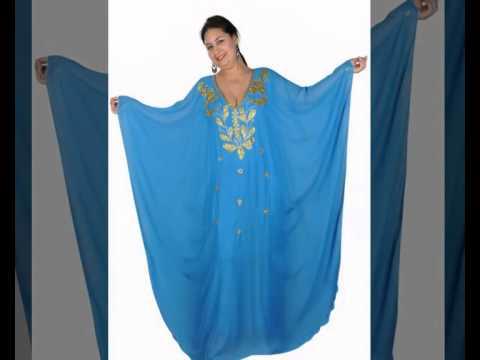 Egypt Bazar Online Shop präsentiert Orientalische Kleidungen aus 1001 Nacht - Abaya im Gulf  Style