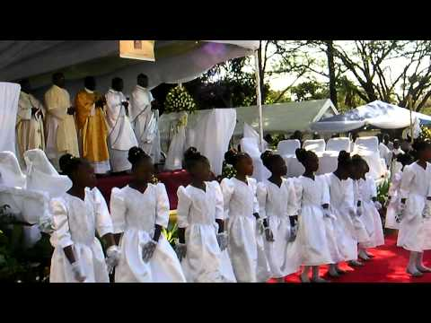 Amalumbo dance (Gloria)...O.F.M Conventual celebration-Zambia