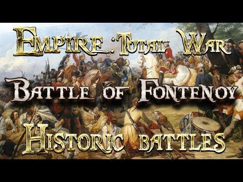 Lets Play - Empire Total War (DM)  - Historic Battles - FONTENOY!!