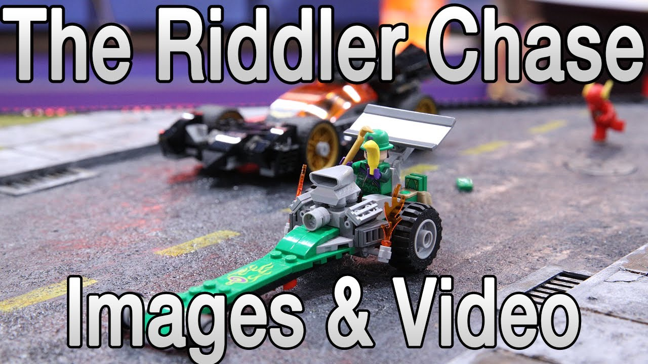 2014 LEGO Batman 76012 The Riddler Chase SDCC 2013 - YouTube