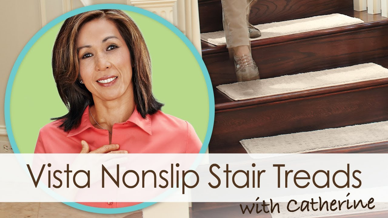 Help prevent falls on stairs with attractive stair treads ...