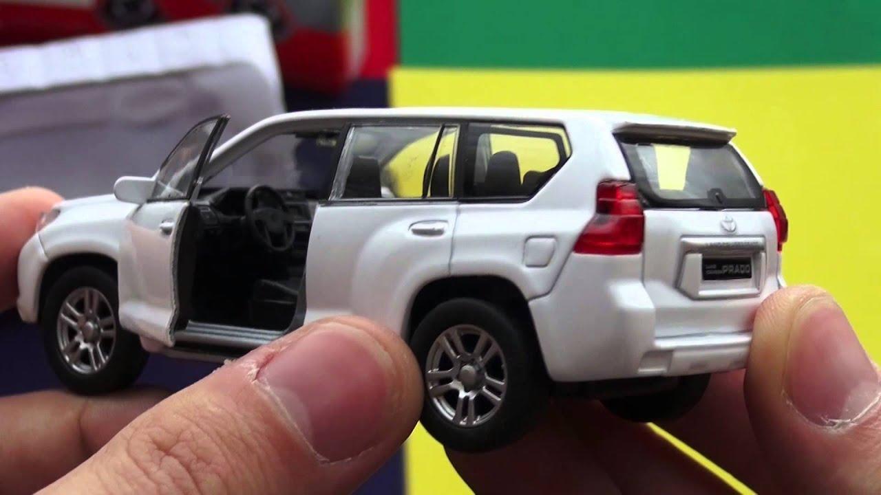 Toyota Land Cruiser Prado 150 Welly Toys. - YouTube