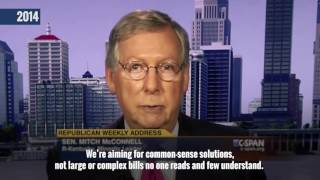Senate GOP Is Drafting Secret, Partisan Health Care Bill Behind Closed Doors