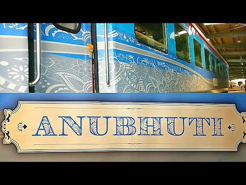 INSIDE ANUBHUTI SHATABDI COACH||ULTRA LUXURIOUS INTERIORS||READY TO EXPORT||Indian Railways!