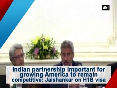 Indian partnership important for growing America to remain competitive: Jaishankar on H1B visa
