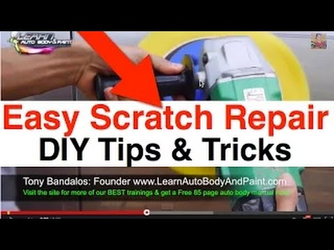 How To Fix Paint Scratch On Car