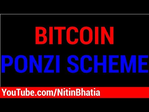 Bitcoin - A Ponzi Scheme | HINDI