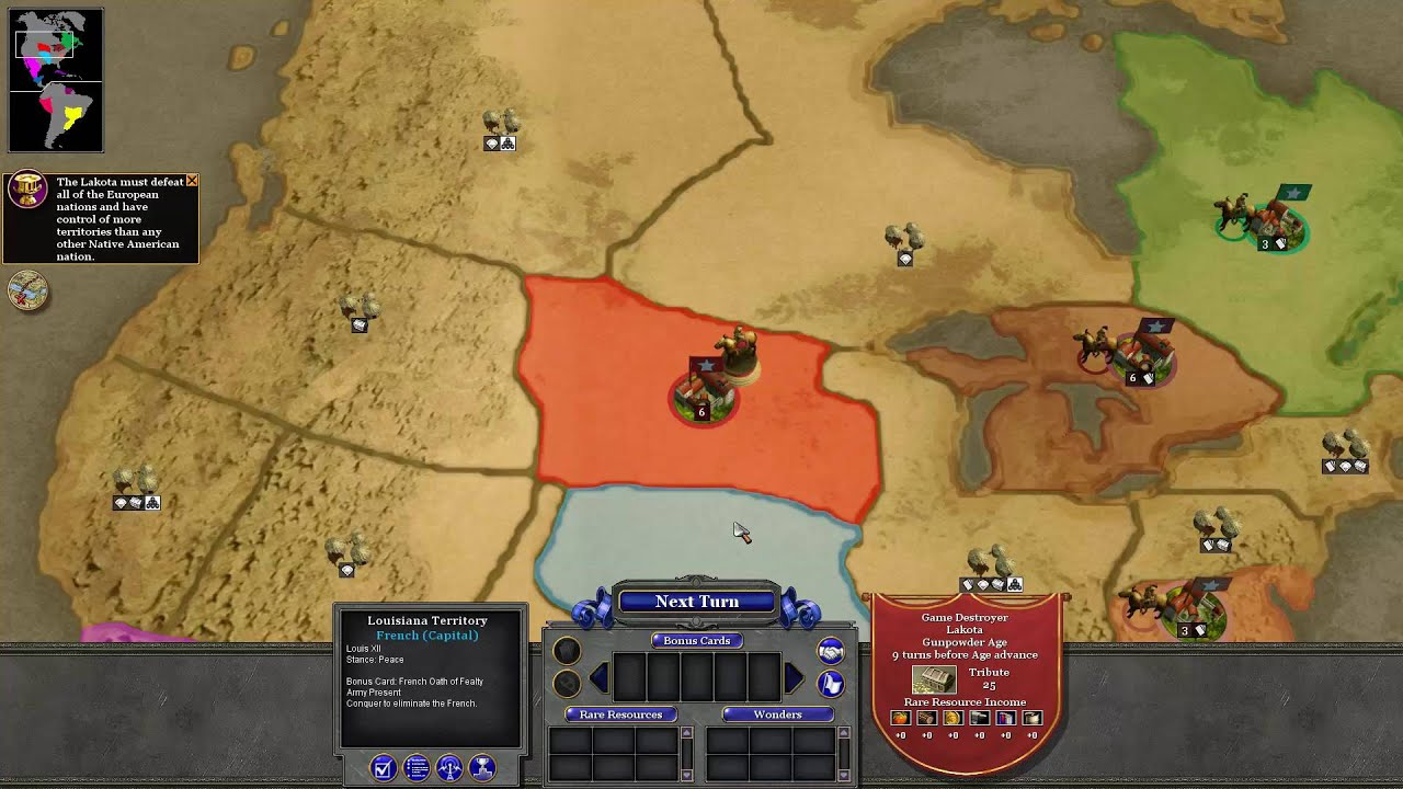 Rise of nations lakota campaign 01 bayou country youtube rise of nations lakota campaign 01 bayou country game destroyer gumiabroncs Image collections
