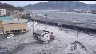 Tsunami in Japan.  Power of the Nature