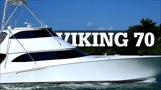 Viking 70 Enclosed Bridge Sport Fisherman | FA LA ME
