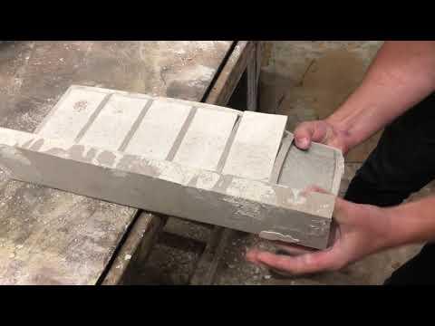 Распалубка цельнолитого угла кирпича Петра | Removing A Solid Corner Of A Brick Of Peter