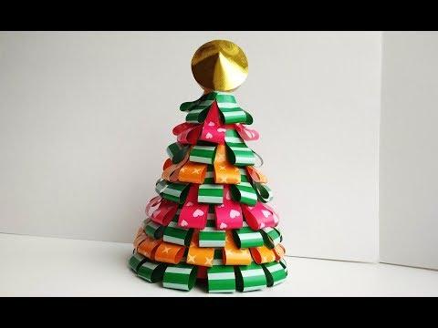 🎄 Как украсить дом на Новый год: объёмные ёлки из бумаги и картона помогут создать праздничную атмосферу