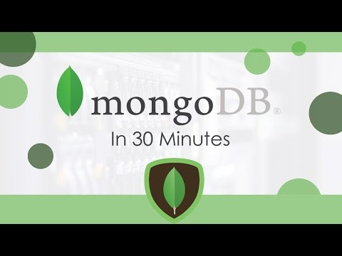 MongoDB In 30 Minutes