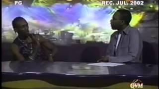 """Beenie Man & Bogle """"EXCLUSIVE"""" Interview Onstage 2002"""