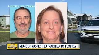 Quadruple murder suspect extradited to Florida