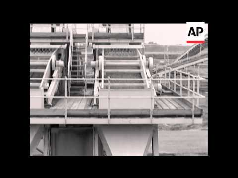 SAND and GRAVEL PROCESSING PLANT   - NO SOUND