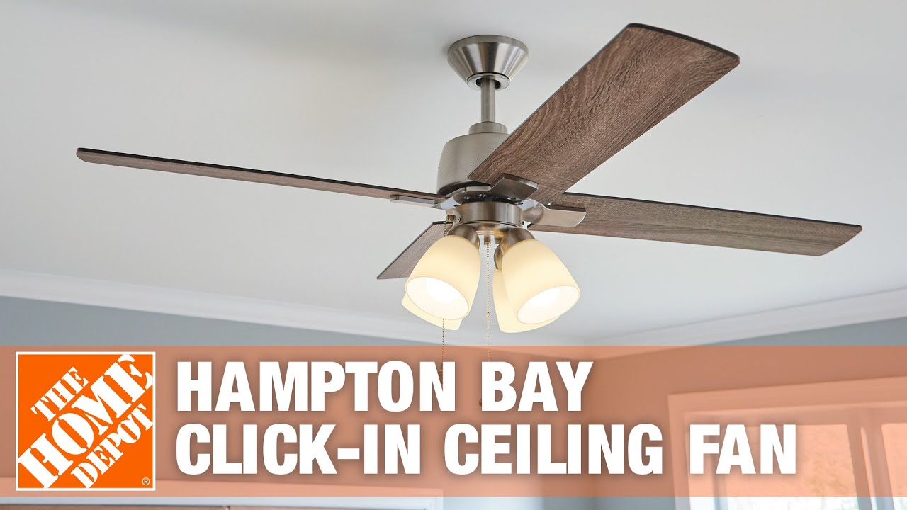 Hampton bay ceiling fan removal tulumsender hampton bay ceiling fan removal hampton bay click in fan ceiling fan youtube hampton bay ceiling fan removal aloadofball Images