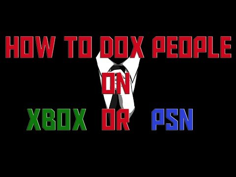 Doxing Tutorial! For Xbox One And PS4. How To Find Home Address + Give Away! -Chocolatechimp