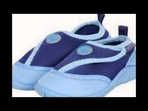 81f5cc928605 Toddler swim shoes - YouTube