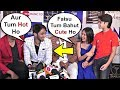 Jannat Zubair And Boyfriend Faisu Cute Moments At Tere Bin Kive Song Launch