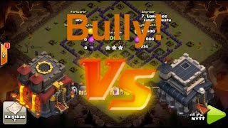 Clash of Clans - Bully! TH10s Attacking TH9s in Clan Wars! + 1 Million Loot Raid!