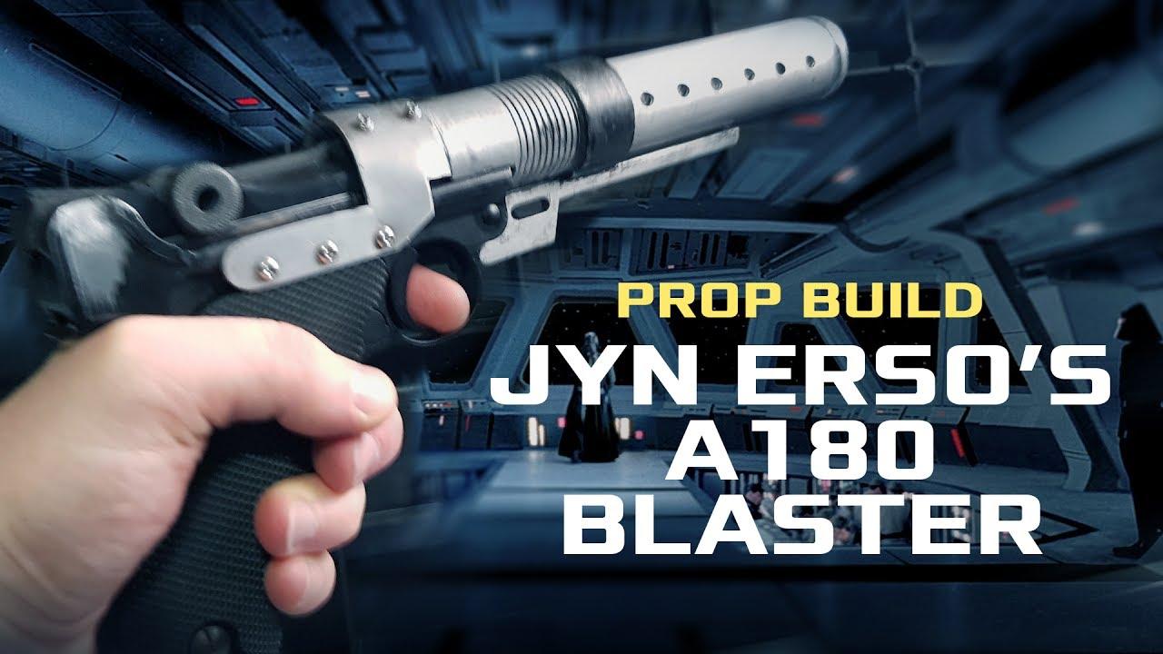 Safe Does Not Shoot Custom Designed A180 Blaster Pistol Prop