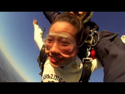 Mber skydive in Australia ↬ Perth ↬ Burkingham beach #YOLO