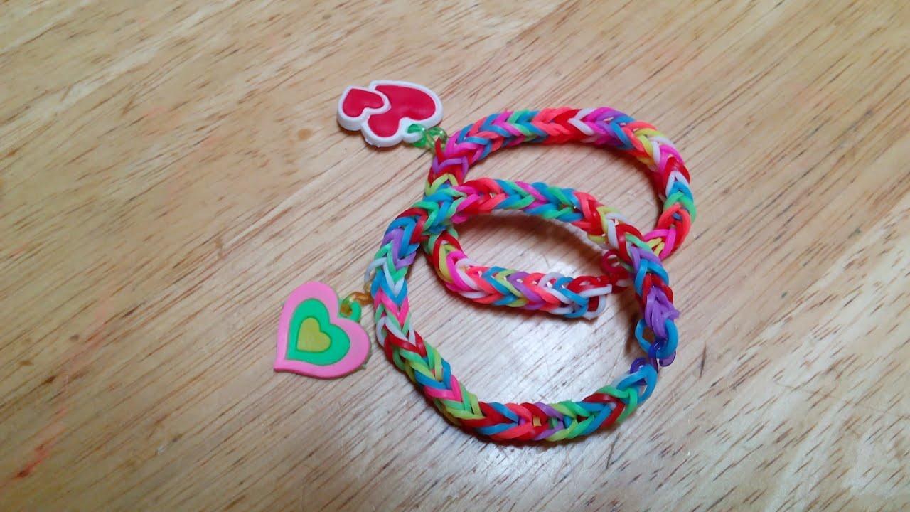 how to make loom bracelet with loom