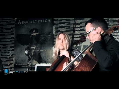 Apocalyptica - Sacra - acoustic set at Hardrock Cafe | PitCam