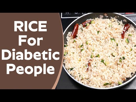 RICE For Diabetic People - Bitter Gourd Brown Rice Recipe For Control Diabetes