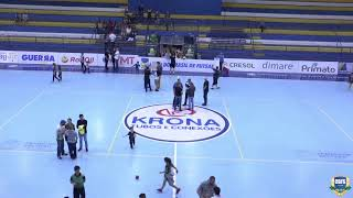 Copa do Brasil de Futsal 2019 - Quartas de Finais - Volta - Marreco(PR) x Sorriso(MT)
