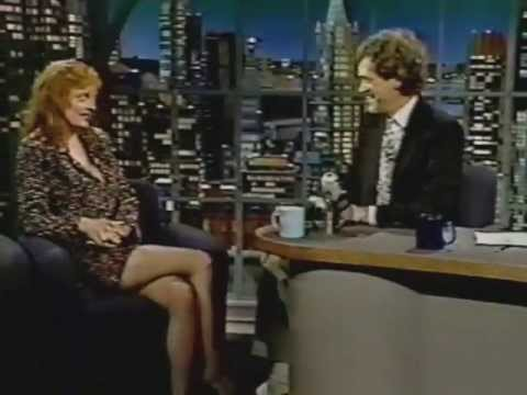 Susan Sarandon on Late Night (1991)