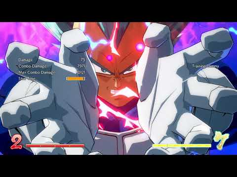 DBFZ - TOD - Tien normals w/ Beam assist Super to DHC (All Resources Used)
