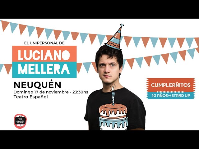 😂 Luciano Mellera 10 años 😂 - Fedorco Producciones