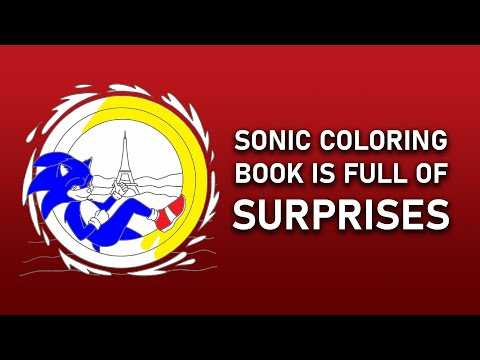 Sonic The Hedgehog S Coloring Book Youtube