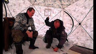 Зимняя рыбалка на лесном озере Попали на клёв язя сороги