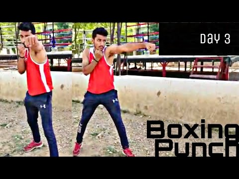 Boxing Punch Training In Hindi | Day 3
