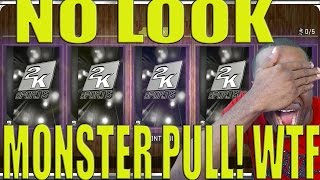 nba 2k16 myteam no look monster amethyst pull holy shit pack opening luck