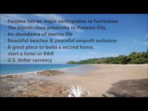 Area Video of Isla Saboga, Panama (Part I)