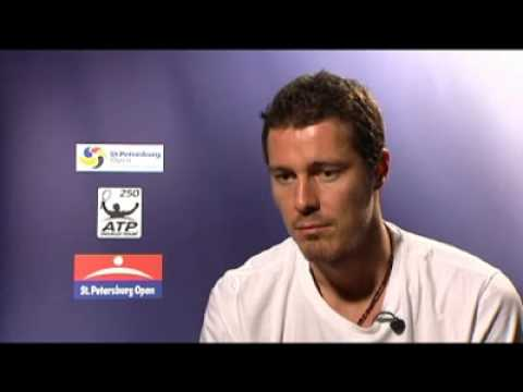 Marat Safin Post-Match Interview R2 Saint Petersburg Open 2009