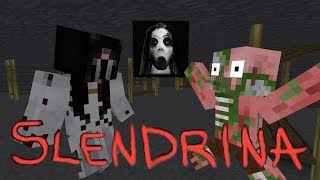 Monster School : SLENDRINA CHALLENGE - Minecraft Animation